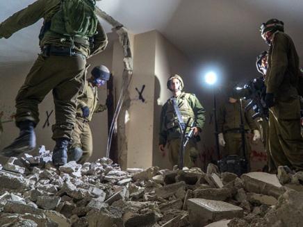 הריסת ביתו של מחבל מהפיגוע בגבעת התחמושת