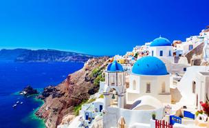 סנטוריני יוון (צילום: Shutterstock, מעריב לנוער)