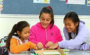 ילדי עובדים זרים (צילום: חדשות 2)