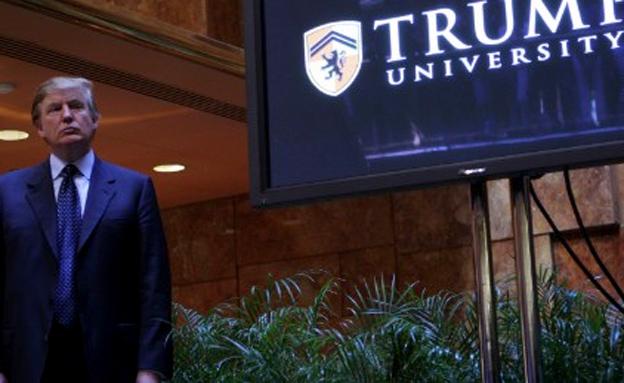 """""""דברים יראו אחרת"""". טראמפ (צילום: CNN)"""