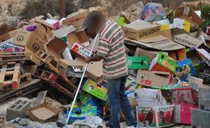 עוני - הסיבה השנייה השכיחה ביותר לפנייה. (צילום: דורית יורדן דותן)