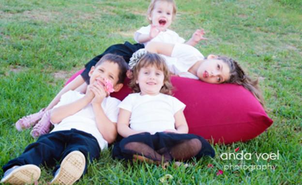אלינה ומארק - צילומי משפחה (צילום: אנדה יואל, צלמת היריון)