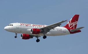 מטוס של חברת וירג'ין אמריקה (צילום: ShutterStock)