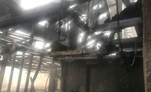 שריפה בדירה, הדירה מבפנים (צילום: חדשות 2)