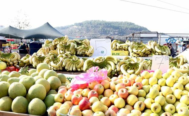 שוק תרשיחא בננות (צילום: ג'רמי יפה, אוכל טוב)
