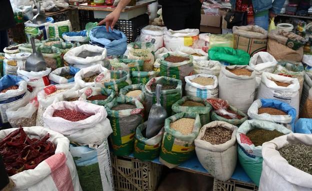 שוק תרשיחא תבלינים (צילום: ג'רמי יפה, אוכל טוב)