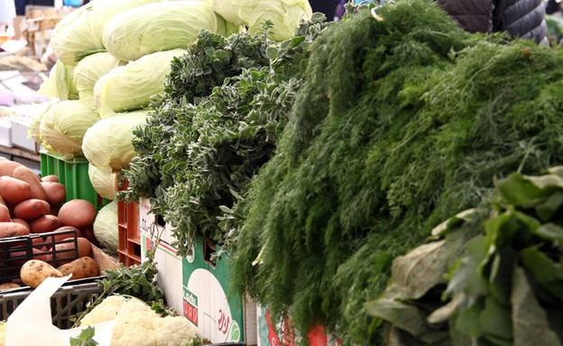 שוק תרשיחא ירוקים (צילום: ג'רמי יפה, אוכל טוב)