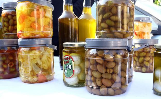 שוק תרשיחא זיתים (צילום: ג'רמי יפה, אוכל טוב)