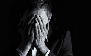 גבר מיואש (אילוסטרציה: Shutterstock)