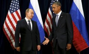 ברק אובמה ולדימיר פוטין (צילום: רויטרס)