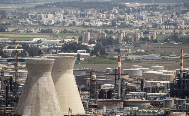 זיהום במפרץ חיפה (צילום: JACK GUEZ, GettyImages IL)