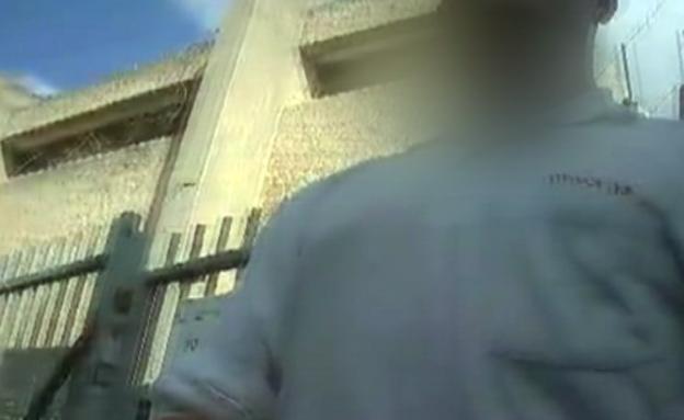 גבעתיים: הפעם השומר התעקש על תעודת הוראה (צילום: חדשות 2)