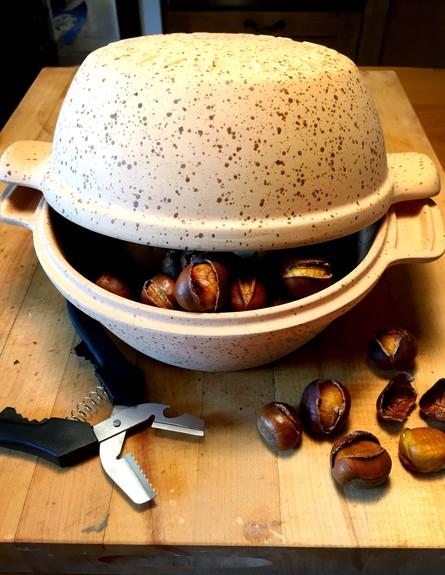 גאדג'טים להמונים - סיר לתפוחי אדמה וערמונים (צילום: מירי צל דונטי,  יחסי ציבור )