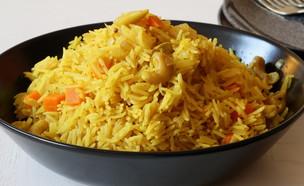 אורז ביריאני (צילום: נטע-חן ליבנה, אוכל טוב)