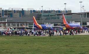 שדה התעופה בפלורידה (צילום: רויטרס)
