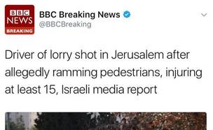 דיווח BBC (צילום: צילום מסך טוויטר)