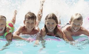 ילדים בבריכה (צילום: אימג'בנק / Thinkstock)