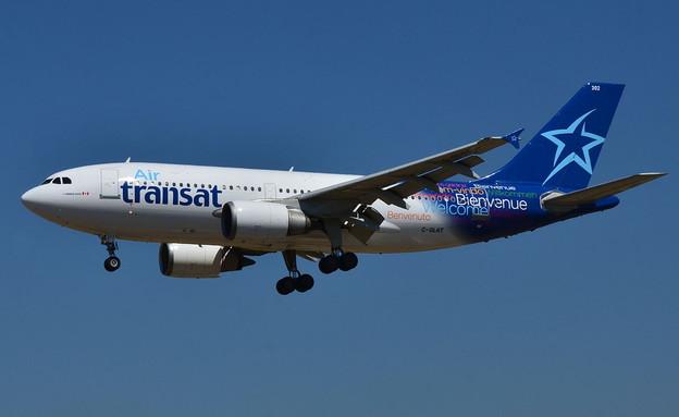 מטוס של אייר טראנסט (צילום: Laurent ERRERA, Wikipedia)