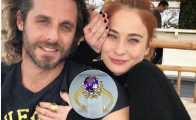 לוסי דובינצ'יק והטבעת (צילום: צילום פרטי)