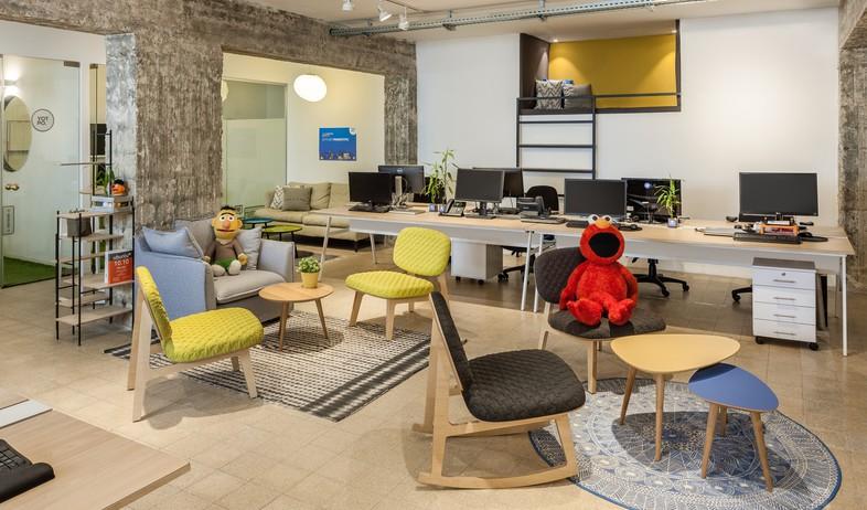 משרדים08, להמשיך את הקו העיצובי של המשרד הקיים (צילום: עידן אדן)