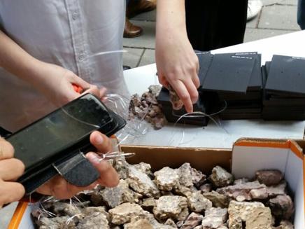חלוקת האבנים