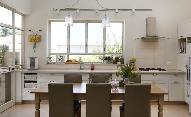 שני אוסישקין, מטבח ופינת אוכל (2) (צילום: שירן כרמל)