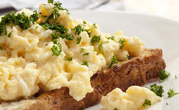 ביצה מקושקשת (צילום: ShutterStock)
