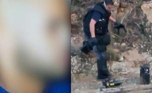 החשוד ברצח בחיפה והזירה בה נתפס נשקו