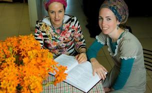 הרבנית נעמי שפירא וביתה  (צילום: אריק סולטן, צילום (אמצע): אריק סולטן)