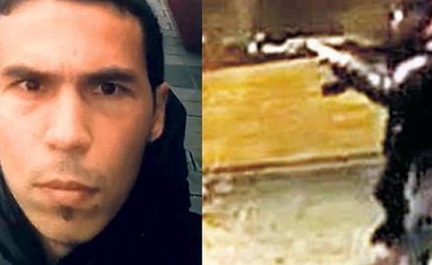 המחבל שביצע את הפיגוע (צילום: CNN)