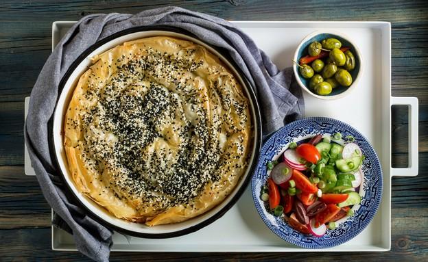 שבלול פילו וגבינות ענק (צילום: שני בריל, אוכל טוב)