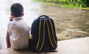 ילד בוכה (צילום: Shutterstock, מעריב לנוער)