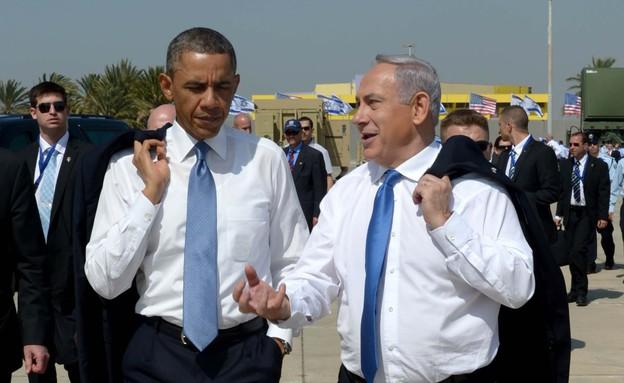 אובמה ונתניהו בביקור אובמה בישראל (צילום: אבי אוחיון, פלאש 90)