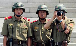 חיילים בקוריאה הצפונית, אילוסטרציה (צילום: Pool, GettyImages IL)