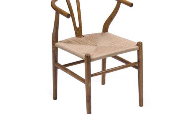 פינת אוכל 03, כיסא אוכל עם מושב קלוע (צילום: hafatzim.com)
