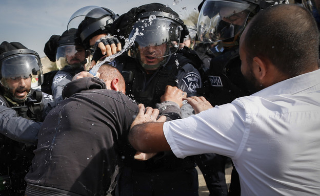 אום אל חיראן (צילום: הדס פרטוש/פלאש 90)