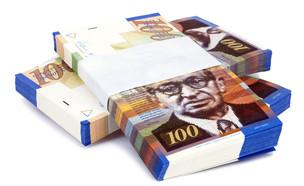 חבילת שטרות של 100 שקלים (אילוסטרציה: Shutterstock)
