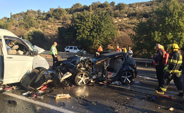 התאונה הקטלנית אתמול
