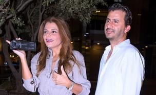 רינת גבאי ובעלה - מחוברים (צילום: ליאור פינקסון)