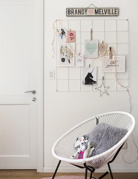 חדרי ילדים, איריס ברקוביץ, החדר של ליה (צילום: אנטולי קרינצקי)