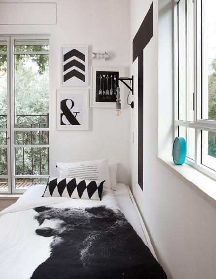 חדרי ילדים, איריס ברקוביץ, החדר של תומר (צילום: אנטולי קרינצקי)