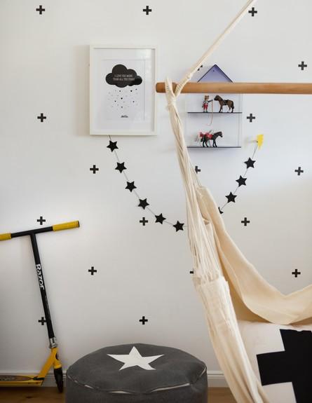 חדרי ילדים, איריס ברקוביץ, החדר של אורי (צילום: אנטולי קרינצקי)