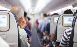 נוסעים במטוס (צילום: Matej Kastelic, Shutterstock)