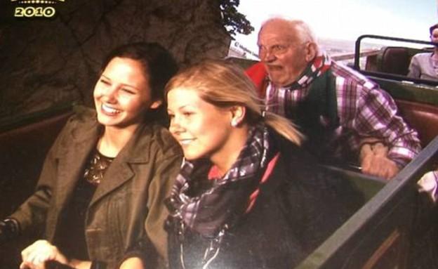 פרצופים ברכבת הרים (צילום: Imgur)
