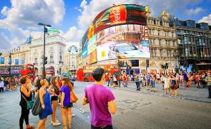 כיכר פיקדילי, לונדון (צילום: Lukasz Pajor, Shutterstock)