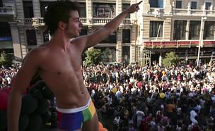 הומו גאה (צילום: ap)
