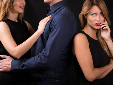 סקס בגידה (צילום: Shutterstock)