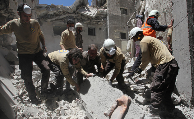 ממדי ההרס העצומים בסוריה (צילום: רויטרס)