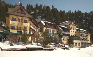 בית המלון שנפרץ באוסטריה (צילום: ערוץ היוטיוב הרשמי)