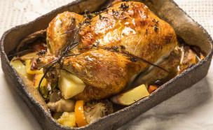 עוף שלם (צילום: אפיק גבאי, אוכל טוב)